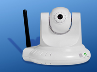ConnecTec IP Kamera VGA 'Wireless RoboCam' 54MBits (802.11g)